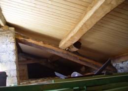 Rehabilitación cubierta panel sandwich madera