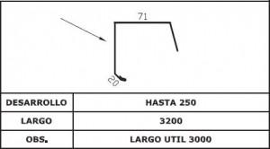 Diseño Frontal vuelo troquelado AIS TAP