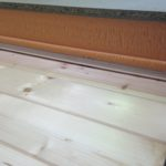 Fabricación de Panel Sandwich madera cuatricapa acabado en friso