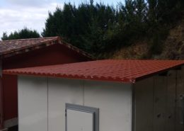 caseta placa sandwich panel vizcaya