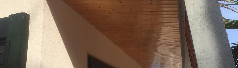 acabado Panel sandwich madera autoportante baleares