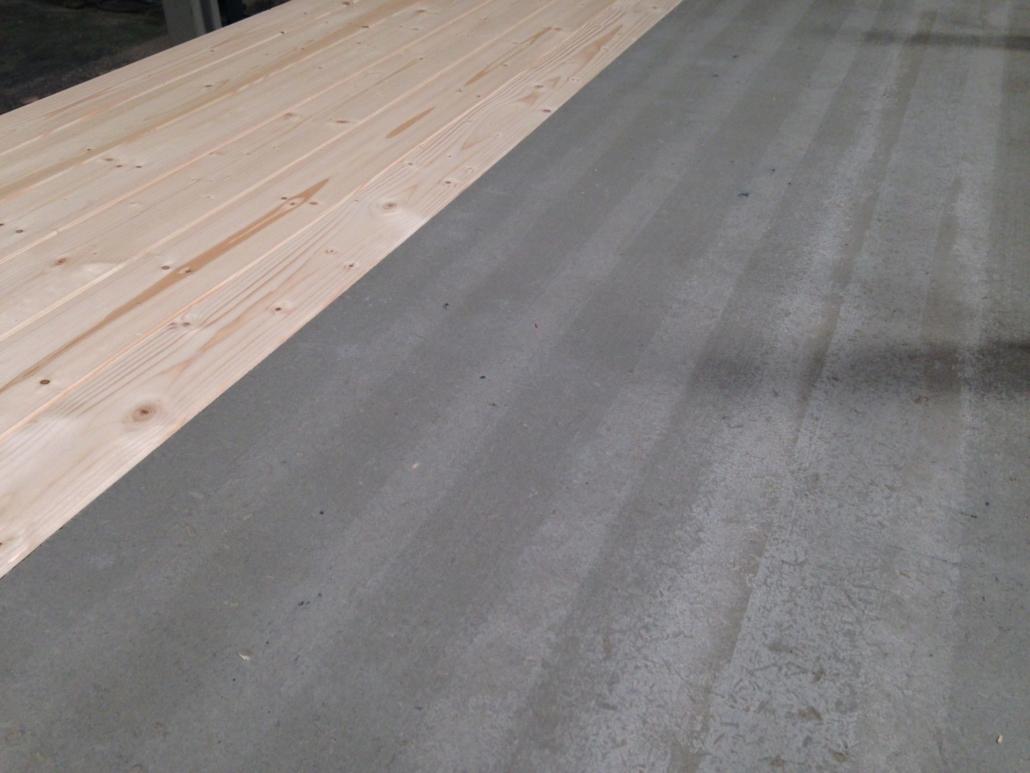 Panel sandwich madera cemento tipo viroc